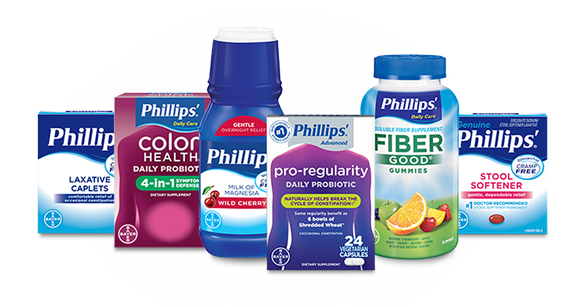 collection of Phillips' products